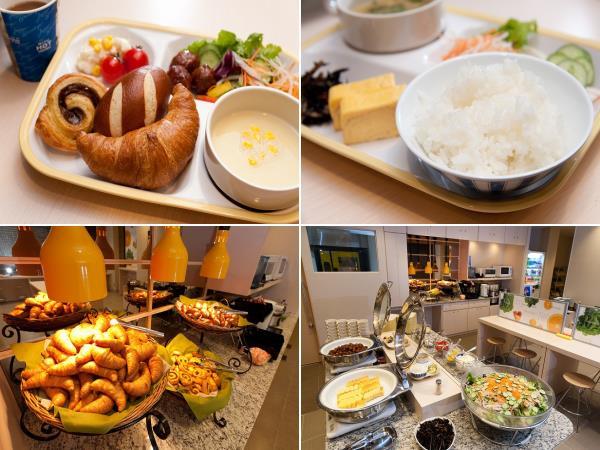 スーパーホテル朝食完成
