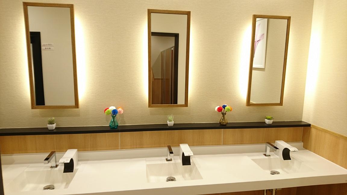 女子トイレ手洗い16 9
